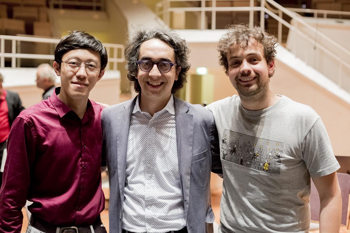 Berlin, Kammermusiksaal der Berliner Philharmonie with Junhao Mao and Samuele Telari (23 May 2017)
