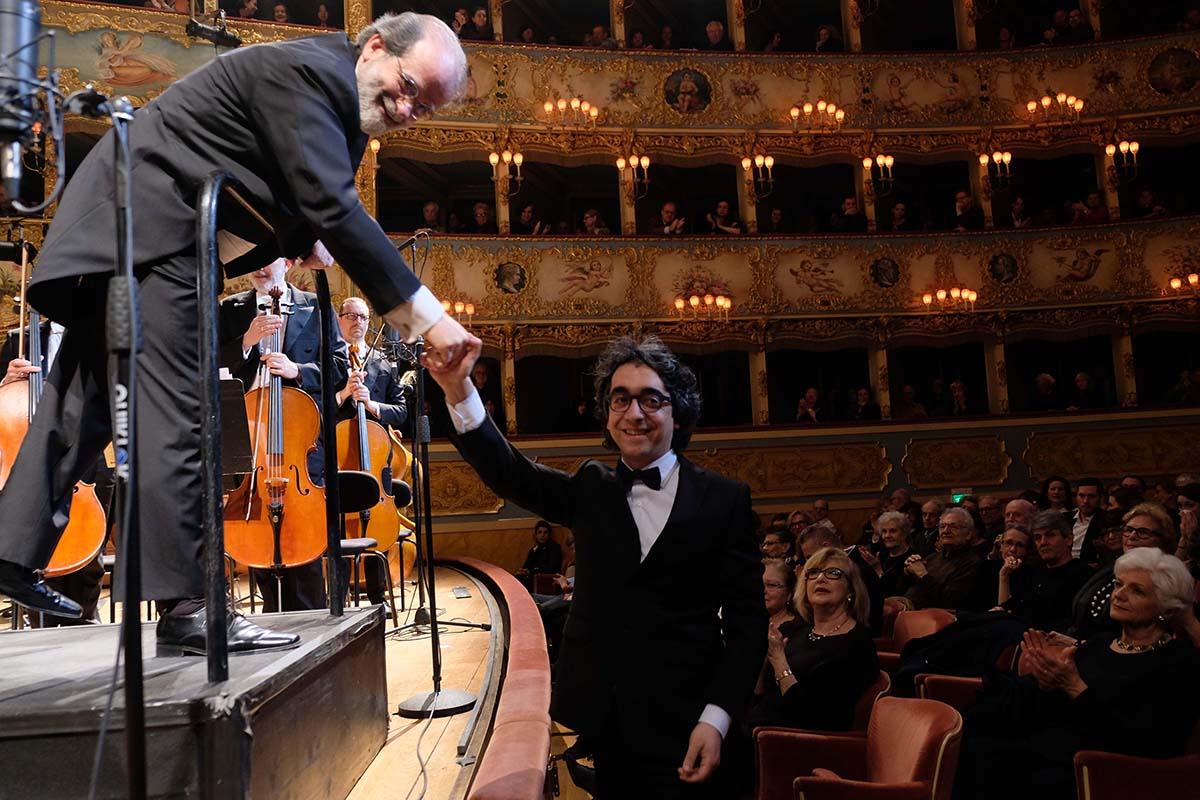 Venezia, Teatro La Fenice with Andrea Marcon (30 March 2018)