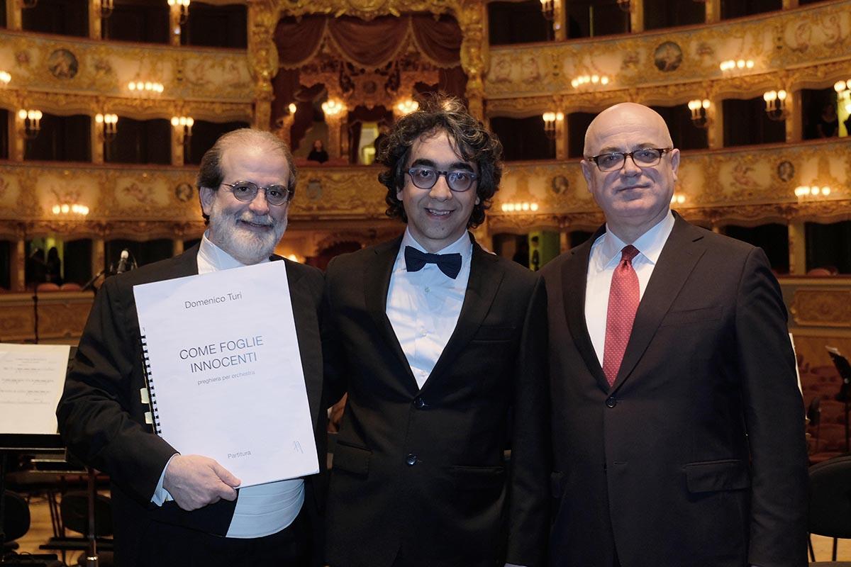 Venezia, Teatro La Fenice with Andrea Marcon and Fortunato Ortombina (30 March 2018)